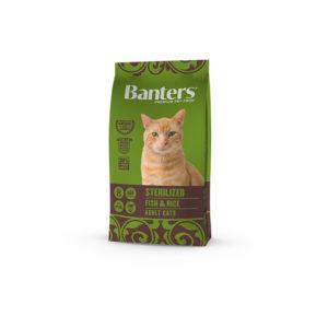 Banters Adult Cat Fish & Rice 8kg