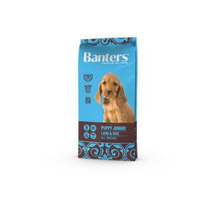 Banters Dog Puppy Junior Lamb & Rice 15kg